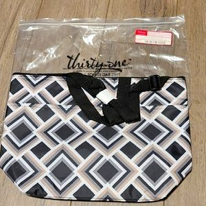 Thirty-One cross body thermal tote